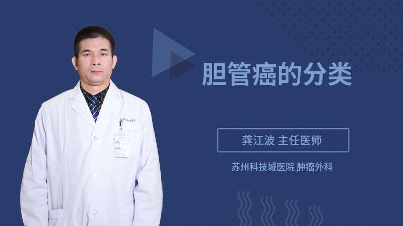 胆管癌的分类