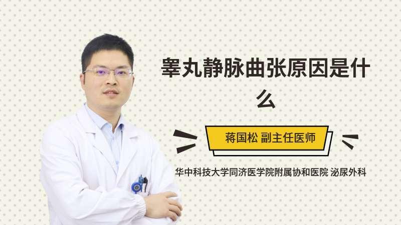 睪丸靜脈曲張原因是什么