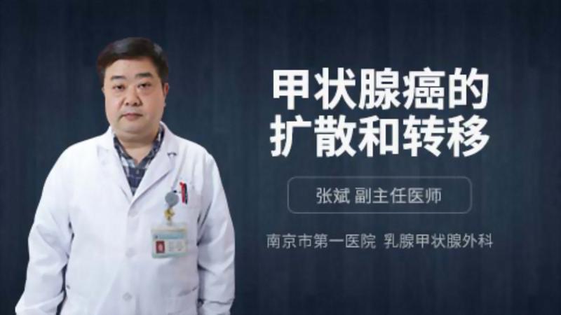 甲状腺癌的扩散和转移